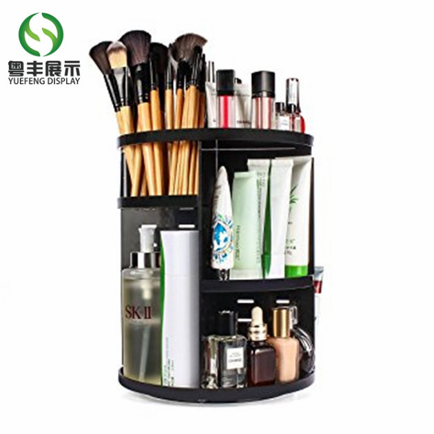 custom plastic display stand for cosmetic