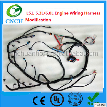 ls1 5 3l 6 0l engine wiring harness and pcm stand alone modification rh alibaba com