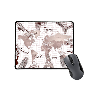 Large Gaming Creative Cheap Custom World Map Mouse Pad Buy