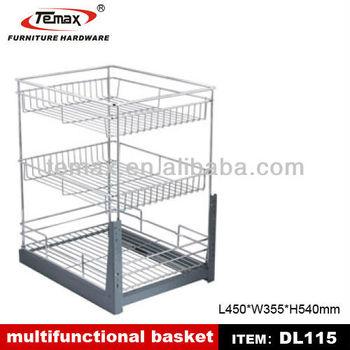 Steel Kitchen Basket/hanging Wire Basket