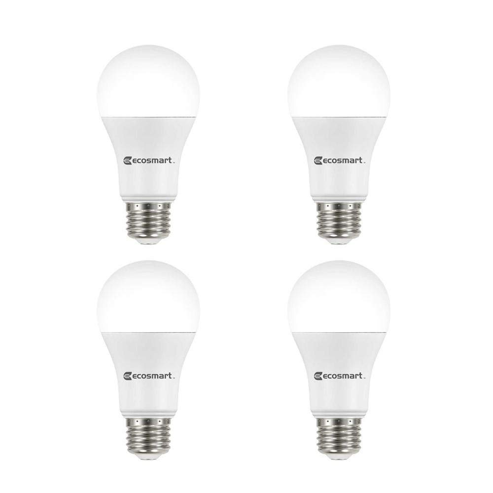 Get Quotations Ecosmart 100 Watt Equivalent A19 Dimmable Energy Star Led Light Bulb Soft White