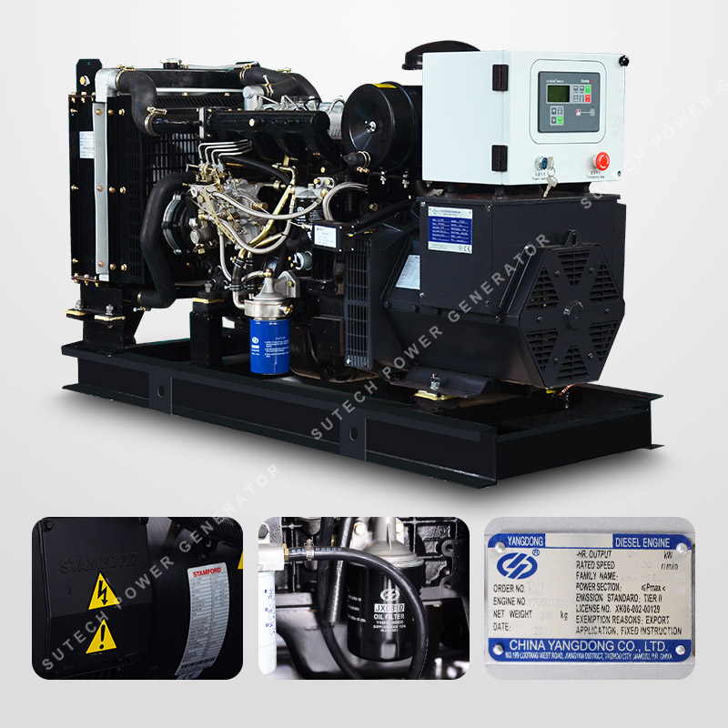 Tre fase super silent 12KVA 15KVA 35KVA diesel generatore 380 v 50 hz