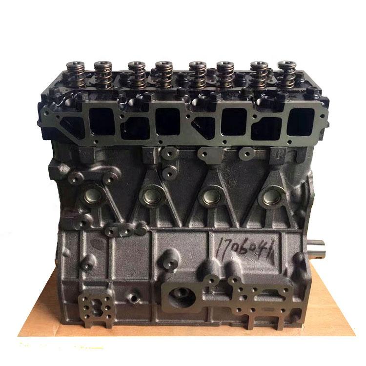For yanmar diesel engine spare parts 4TNV98 4TNE98-BQFLC cylinder block  with cylinder head crankshaft piston for sale