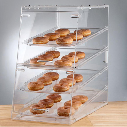 display factory directly acrylic clear candy display stand showcase