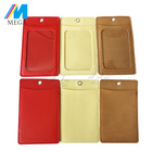 2017 New Colorful Customized Pvc and Leather Double ID Card Holder