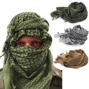 Cheap Custom Men's Military Tactical Scarf Digital Printed Sport Outdoor Shawls and Scarves