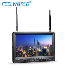 FEELWORLD 10,1 zoll sonnenblende <span class=keywords><strong>tft</strong></span> lcd monitor mit dvr erbaut in batterie