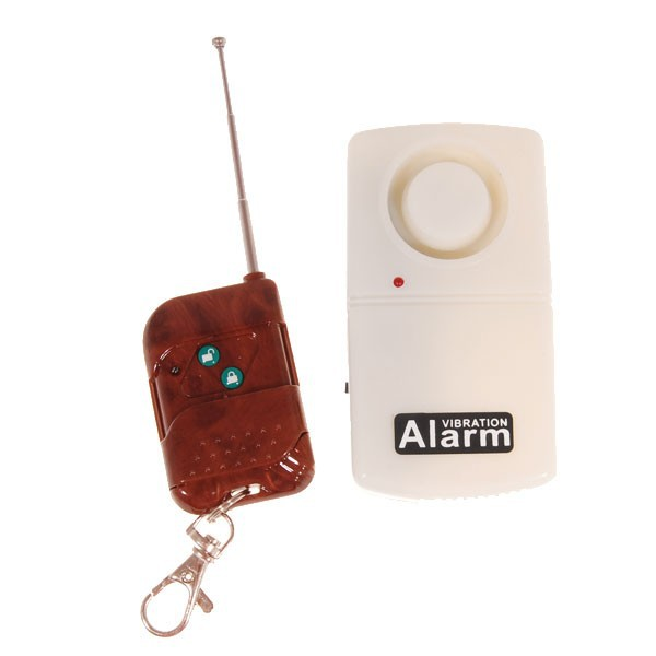 Wireless Home Security Vibration Alarm Window Door remote control alarm