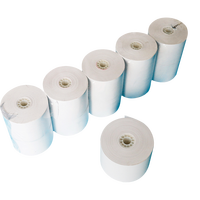 Printing 80 X 80mm 80gsm Pos Wrapping Rolls Core Offset Matt Thermal Paper