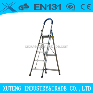 Stainless steel SS ladder with handrail and sponge