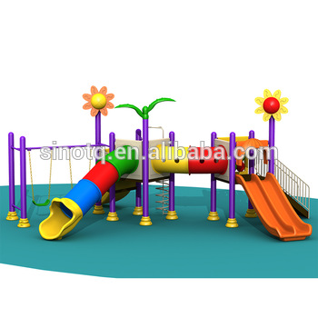 Kids Slides Used School Outdoor Plastic Playground Toddler Tunnels Equipments