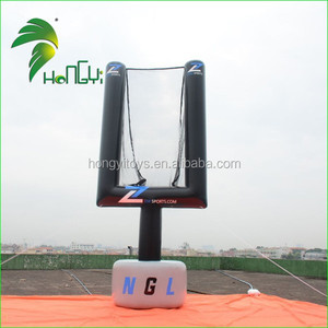 Customized inflatable Replica Product , Inflatable Basketball Rack Advertising