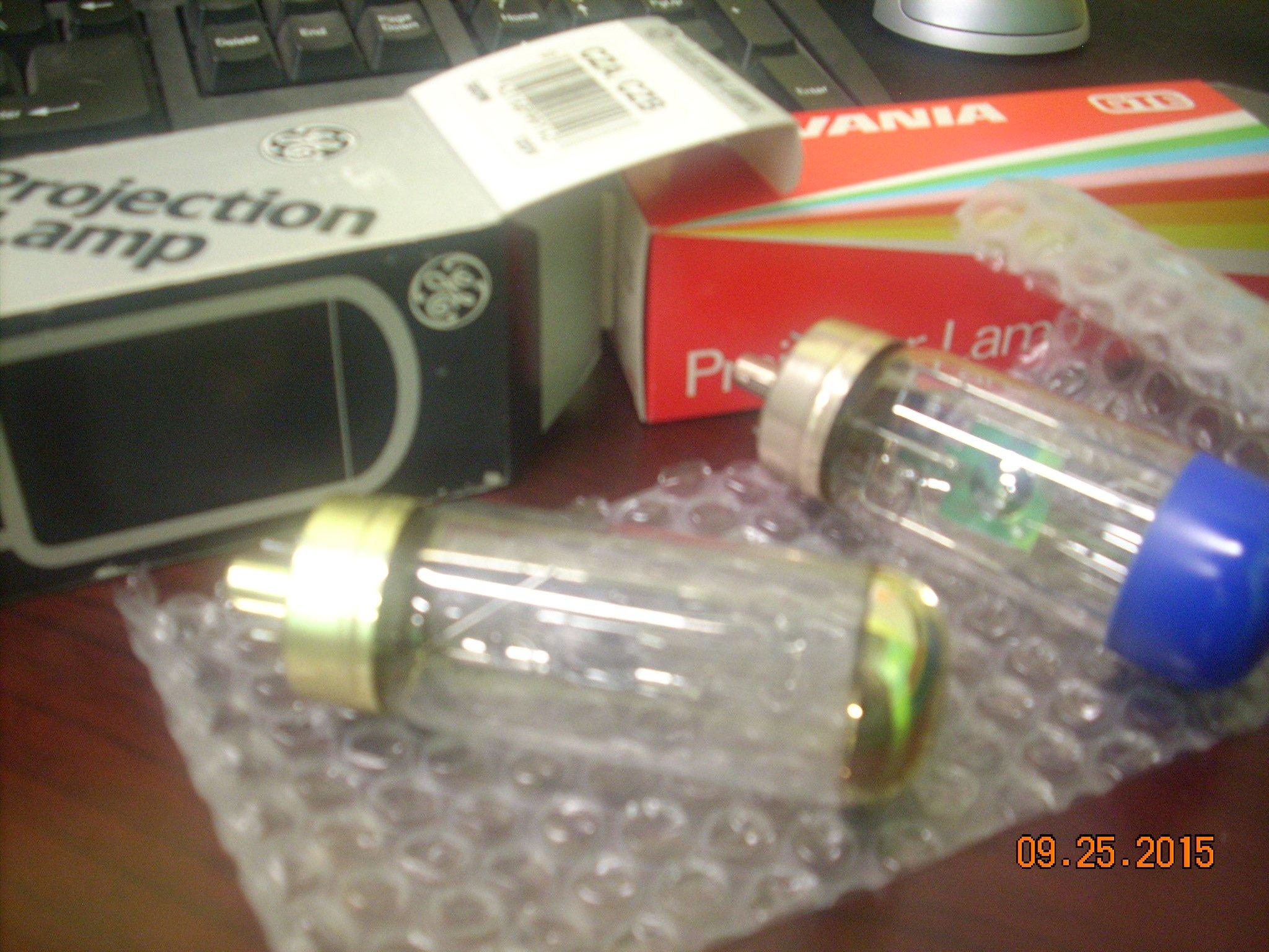GE 29664 - CZA/CZB Projector Light Bulb