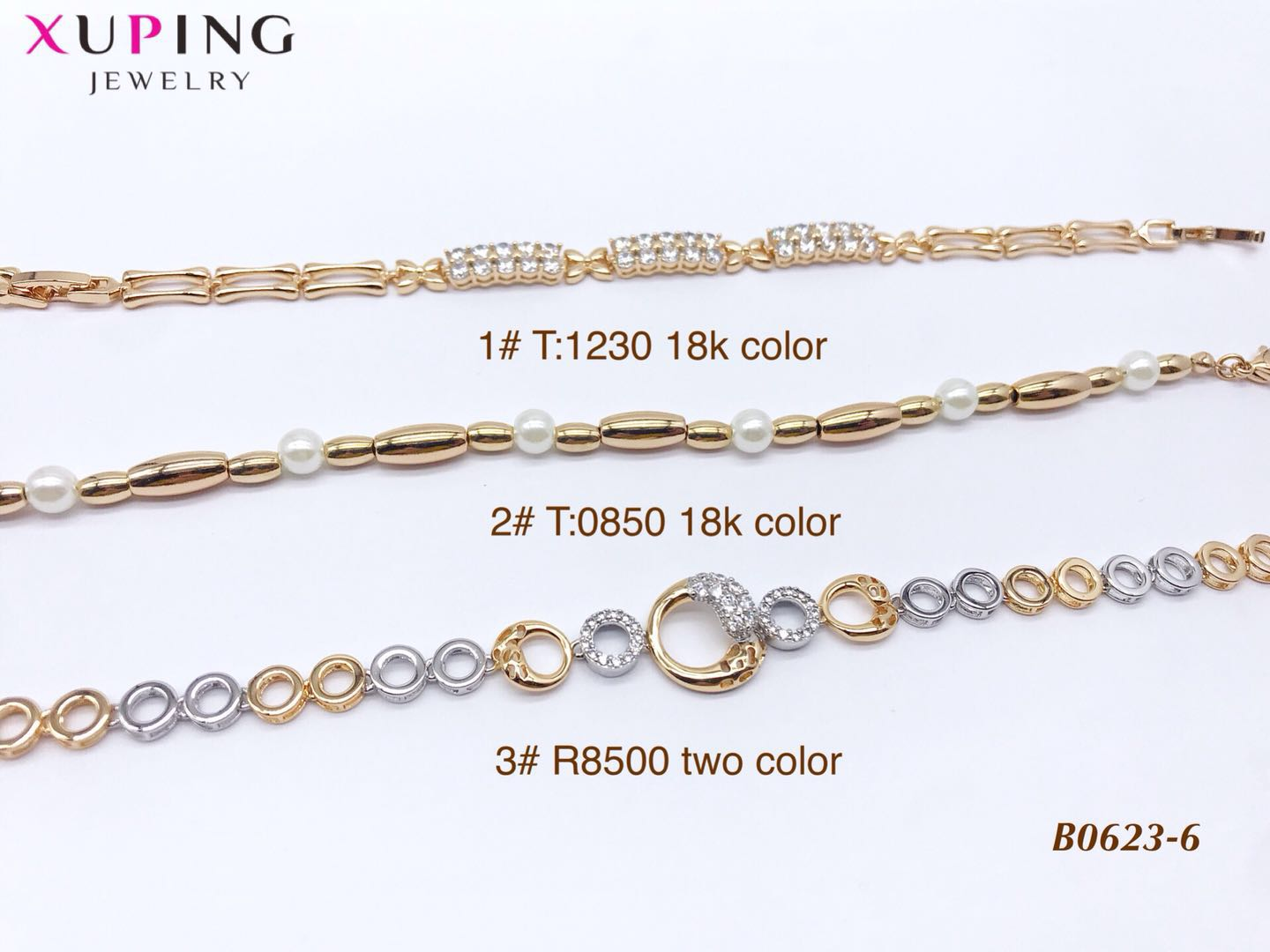 71311 Xuping Jewelry Fashion Hot Sale  Watch bracelet jewelry with 18K Gold Plated