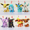 Espeon Plush stand styles Umbreon Espeon Glaceon Vaporeon Plush toy figures Toys 20cm Soft Stuffed