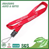 High quality custom polyester lanyard with mobile phone strap