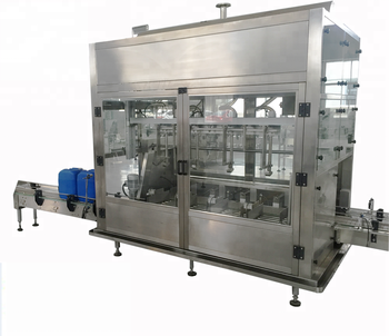 High quality gavity emulsion varnish bucket filling machine  paint filling machine