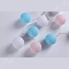 Hot Selling cute decoration light string of colorful light party for cotton ball lights