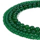 10mm Green Agate Beads Natural Gemstone Round Loose Beads for Jewelry Making for Bracelet Necklace