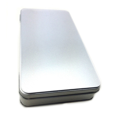 Dongguan supply rechthoek aluminium sigaar case metalen sigaar box