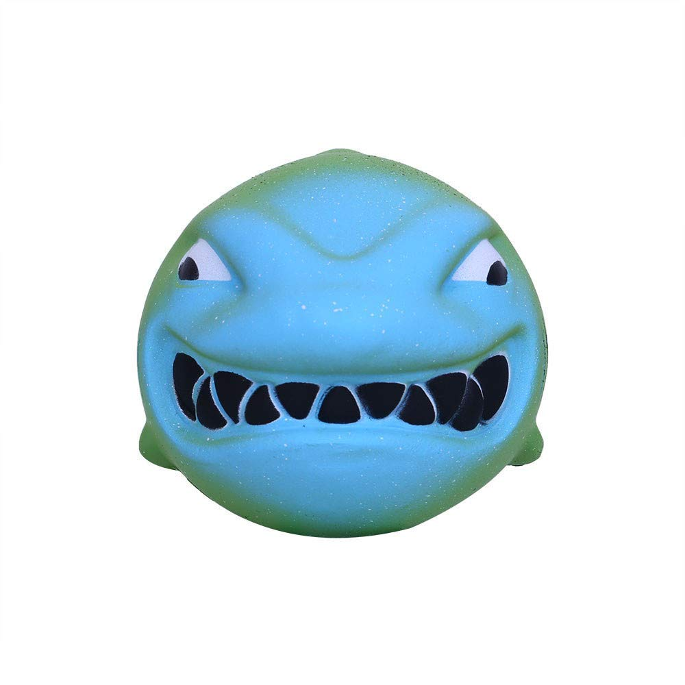 callm Squishies Shark Slow Rising Jumbo Squishy Toys Kawaii Cute Scented Squishies Kids Party Squishy Stress Reliever Toy