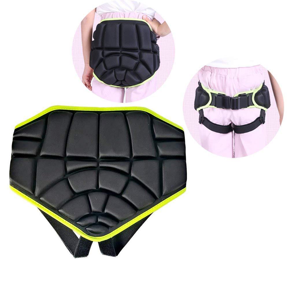 Enshey Kids Hip Protective Gear Padded Shorts Children Hip Padded Protective Shorts Buttocks Drop-proof Protection Pad for Skating Hockey Skiing Skateboard Wheelbarrow