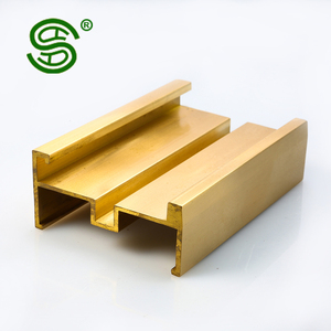 Cheap price OEM service alloy brass solid copper extruded door profile