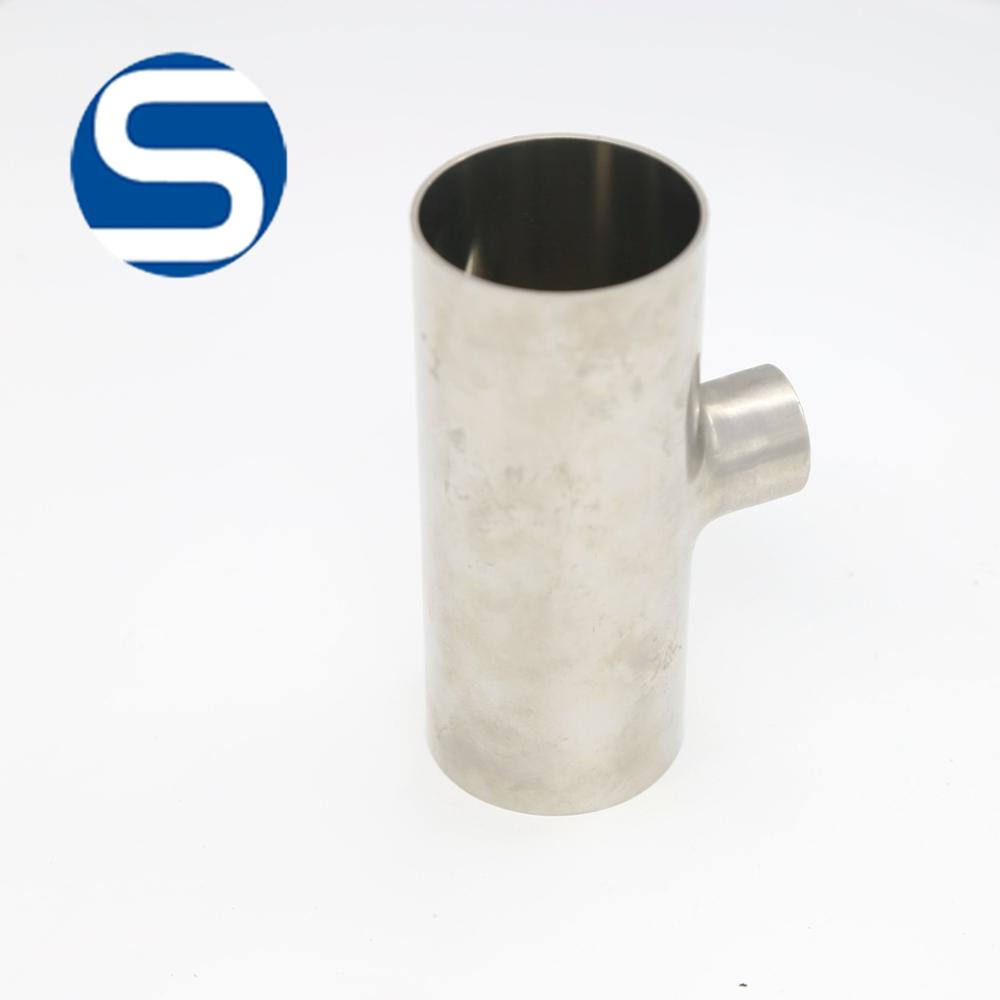 304 316 Sanitary Pipe Stainless Steel 316 Tee Joint