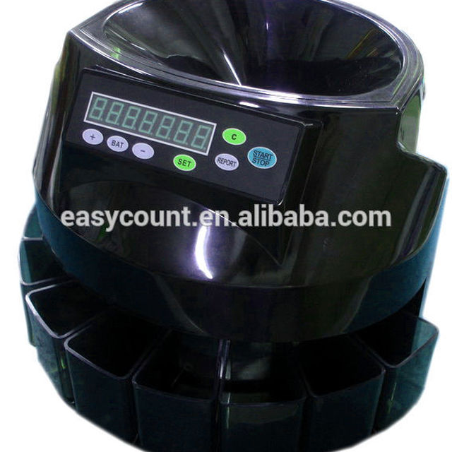 ODM,OEM wholesale bulk price EC50 Coin Sorter/Counter, Countable coins $1, $5, $10, $25, 250 coins/min