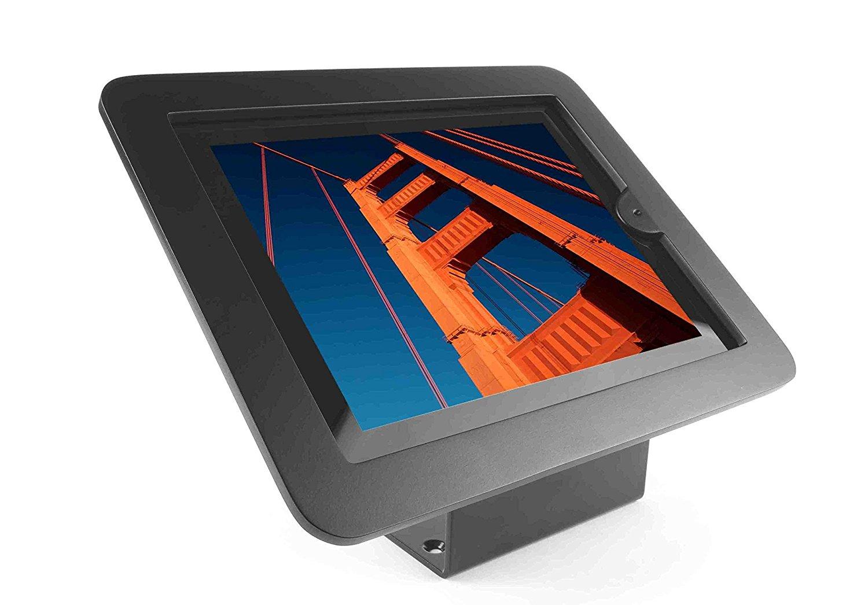 Maclocks Executive Enclosure Kiosk for iPad 2/3/4, iPad Air, iPad Air 2, Black (101B213EXENB)