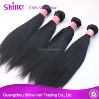 Wholesale virgin 10a indian straight virgin hair extension factory price hair