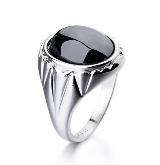 925 Silver Fashion Jewelry One Big Stone Rings Designs