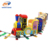 Kids track train game machine electric coin operated kiddie rides mini kids train ride