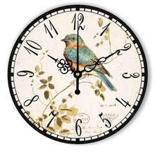 New design clock antique wooden wall clock