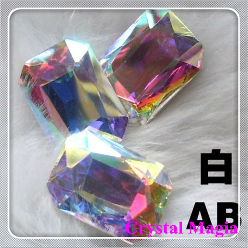 AB crystal point back rhinestone