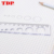 School Stationery High Quality Handmade Transparent Acrylic Ruler Acrylic Drawing Ruler