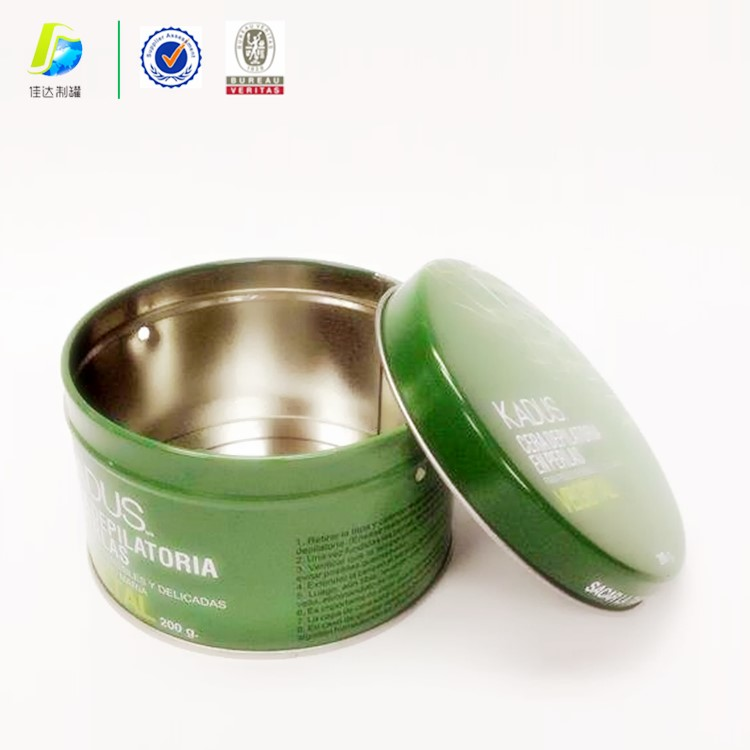 custom round tea tin cans for coatings at cheap price