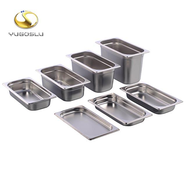 Али Горячая продажа пластина из нержавеющей стали прямоугольный поднос для еды поднос для гостиницы с сертификатом