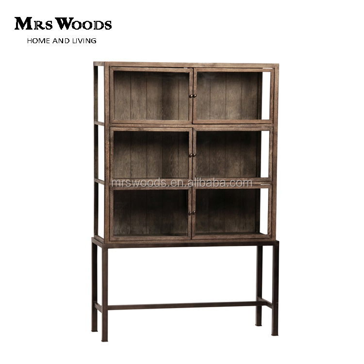 Cabinet Metal Bookcase With Glass Door Cabinet Metal Bookcase With