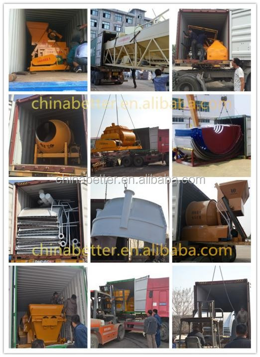automatic control system concrete mobile batching plant truck mounted