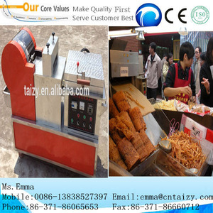 China hot sell snack food dried squid shredded machine 0086-13838527397