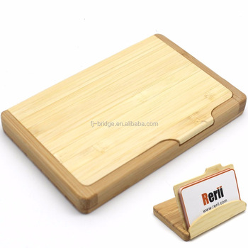 100 natural bamboo business card case holder buy business card 100 natural bamboo business card case holder colourmoves