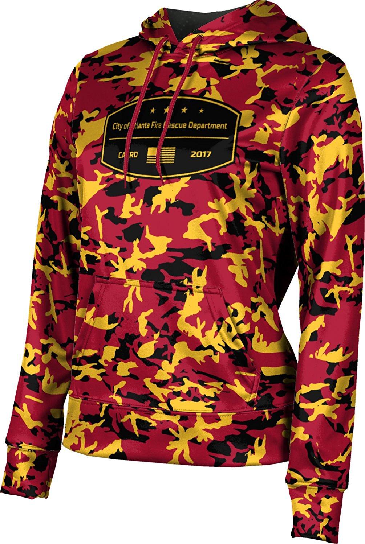 ProSphere Girls' City Of Atlanta Fire Rescue Department Fire Department Camo Hoodie Sweatshirt