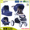 Aluminum 3in1 Baby Stroller 3-IN-1 Carrying cot and Carseat