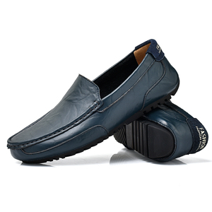 Most comfortable mens casual shoes leather loafer shoes