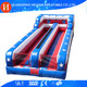 Inflatable Bungee Run Bouncer , Double Lane Bungee Run , Bungee Jumping Run For Adults