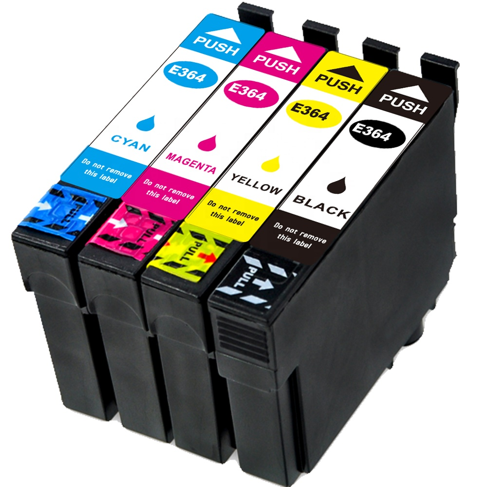 B-T compatible ink cartridge E364 T364 T3641 T3642 T3643 T3644 364-I for For Epson Expression Home XP-245/442 Inkjert