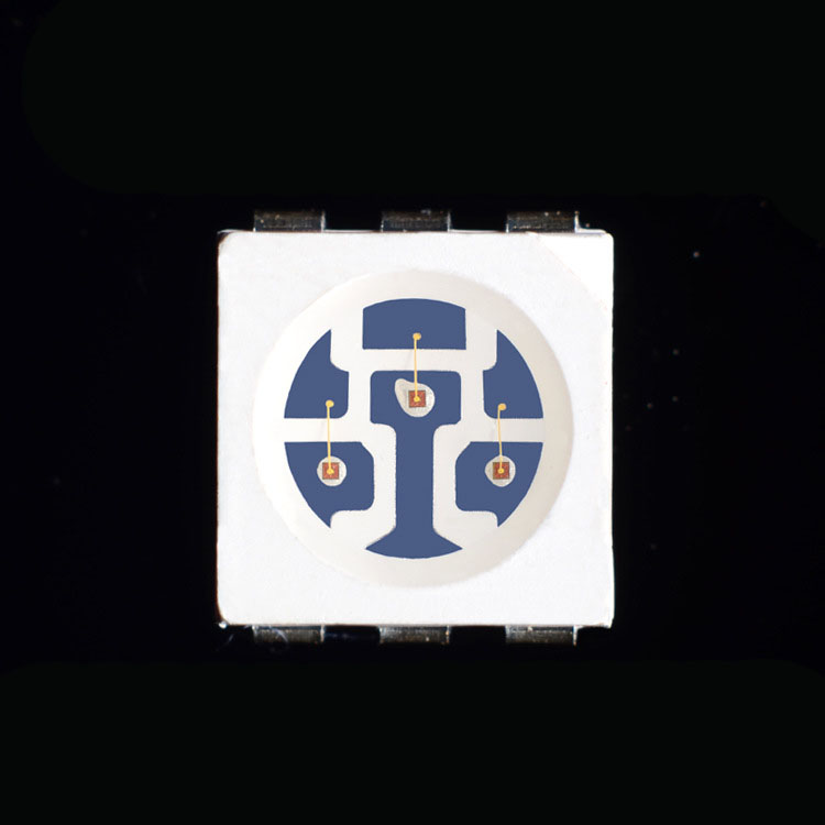 high bright PLCC-6 5050 Amber orange SMD led diode