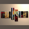 Wholesale 100% Handpainted Home Decor Pictures Canvas Wall House Painting