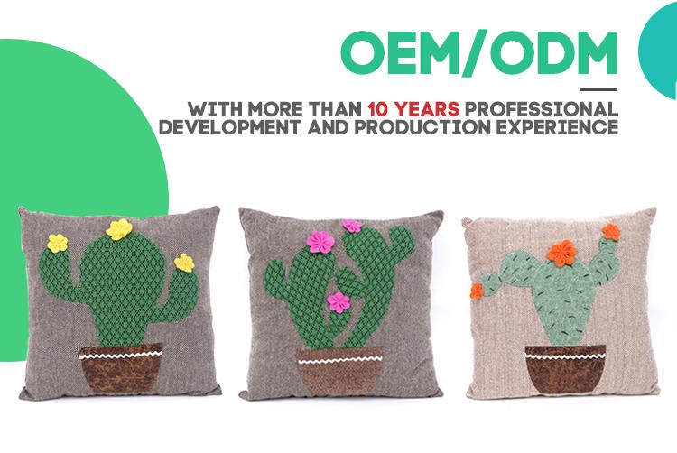 4040 Cactus Shape Plush Cute Household Decorative Cushion Cactus Fascinating Fairon Decorative Throw Pillow